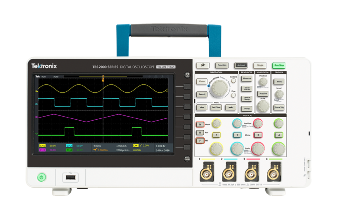 Tektronix TBS2000 Oscilloscopes